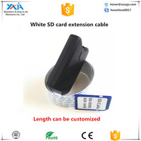Card reader extension cable with charging function extender otg support mobile phone