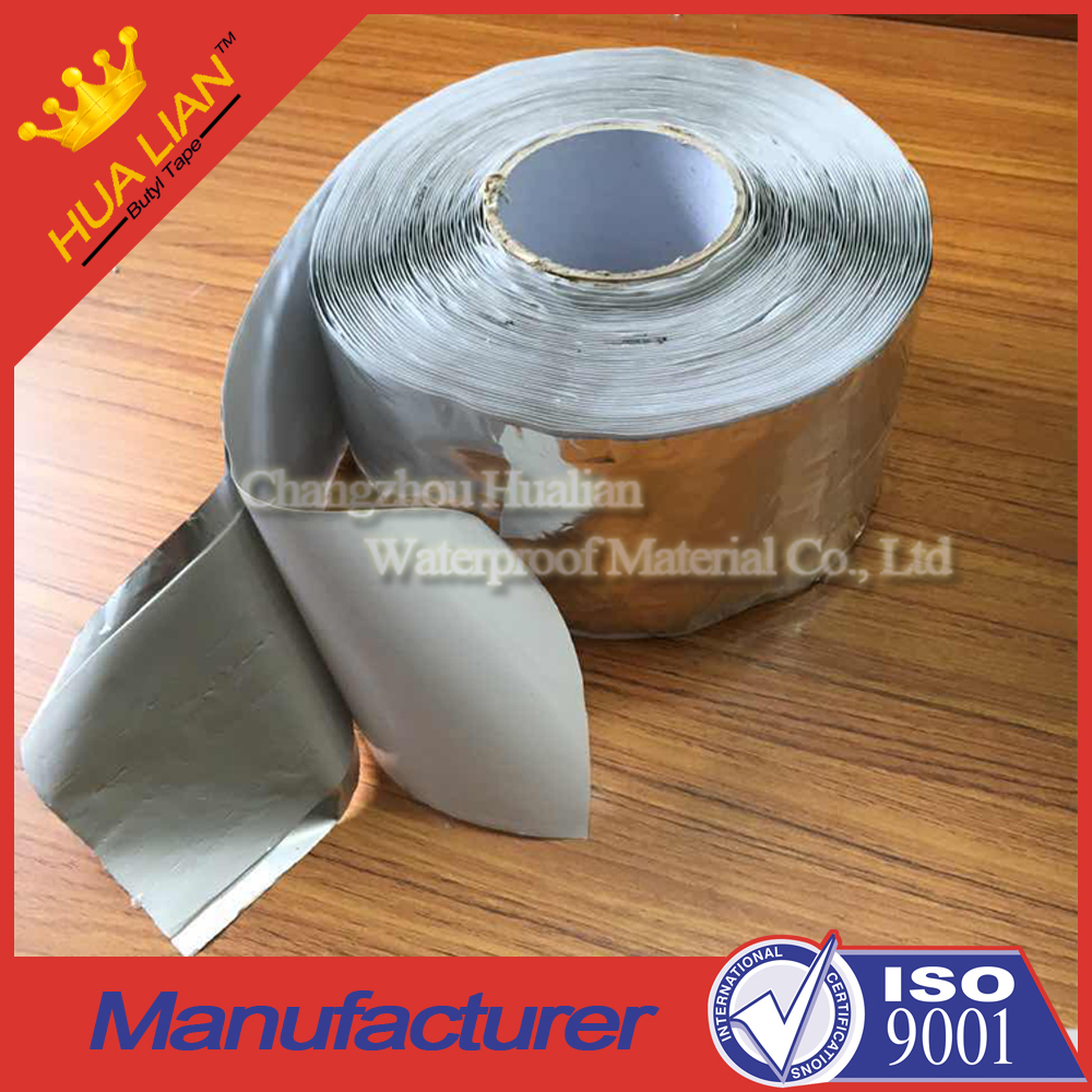Color steel plate aluminum flashing butyl sealing tape