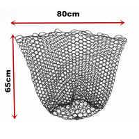 fishing landing net replace rubber net bag
