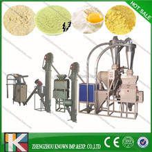 Complete Set Corn Flour Production Line / Maize Flour Milling Plant