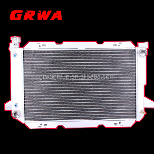 All Aluminum Radiator for Ford Bronco F150 F250Truck1985-1997 5.0L 5.8L