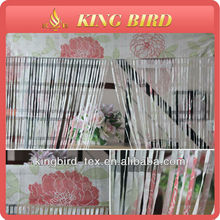 2013 new design elegant wholesale thread line curtain