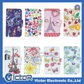 Wholesale diamond flip universal leather case for LG for ZTE