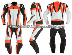 Men Stylish Motorbike Leather Suit For Men