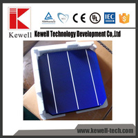 China manufacture good price high efficiency triple junction mono solar cell price