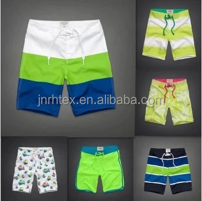 Breathable dry fit polyester men beach shorts for promotion