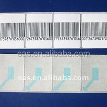 Promotional EAS 8.2mhz Soft Label EAS System For Retail Products