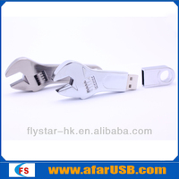 Spanner shape usb pen drive/Metal wrench usb drive/tool usb drive 8GB capacity