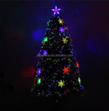 Yellow bulb Led Tree with 200 Pre Lit Clear Lights