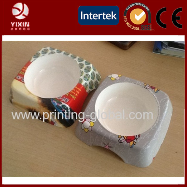 PP heat transfer printing film for Plastic Pet bowl