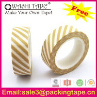 tissue adhesive double sided tape,decorative washi paper tape with good quality SGS