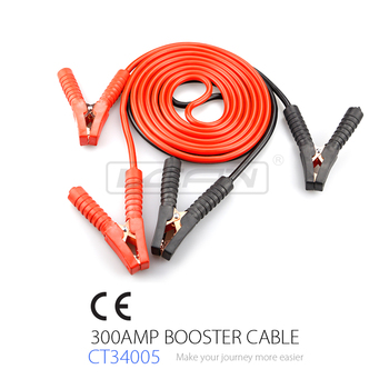 Hot Selling CE certified used for almost all Cars Jumper Cable and Booster Cable