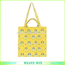 non woven shopping bag manufacturer fashion cotton canvas shopping bag