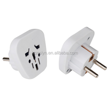 New Safety Protector Shutter EU UK Australia Europe USA to Germany France Travel Plug Adapter