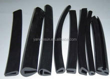 Various color rubber seal,Silicone extruded rubber seal strip