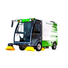 Various Styles Power Cordless Petrol Small Floor Road Street Sweeper