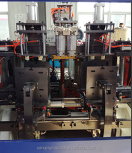 Full Automatic double heads extruder blowing molding machine for plastic bottle