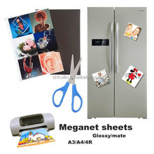 Magnetic paper 650gsm Inkjet Matte Magnetic / Magnet Photo Paper