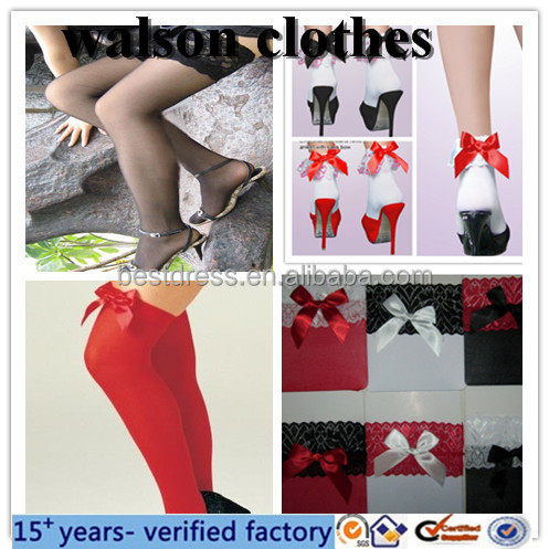 wholesale walson in stock plus size latex stockings