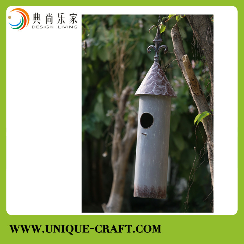 Best selling metal bird house bird cage for garden decorations