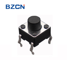 TS-D001 Momentary 6mm tact switch 4 pin DIP type for Remote Control push button switch