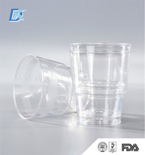 High Quality Transparent 380ml Plastic Measuring Drinking Cup
