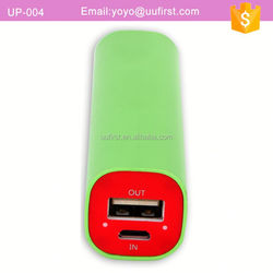 Rechargeable One 18650 Battery Cell Phone Charger