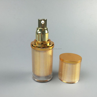 Fine mist packaging acrylic cosmetic jars new fashion mini lotion/bb vream/oil bottle