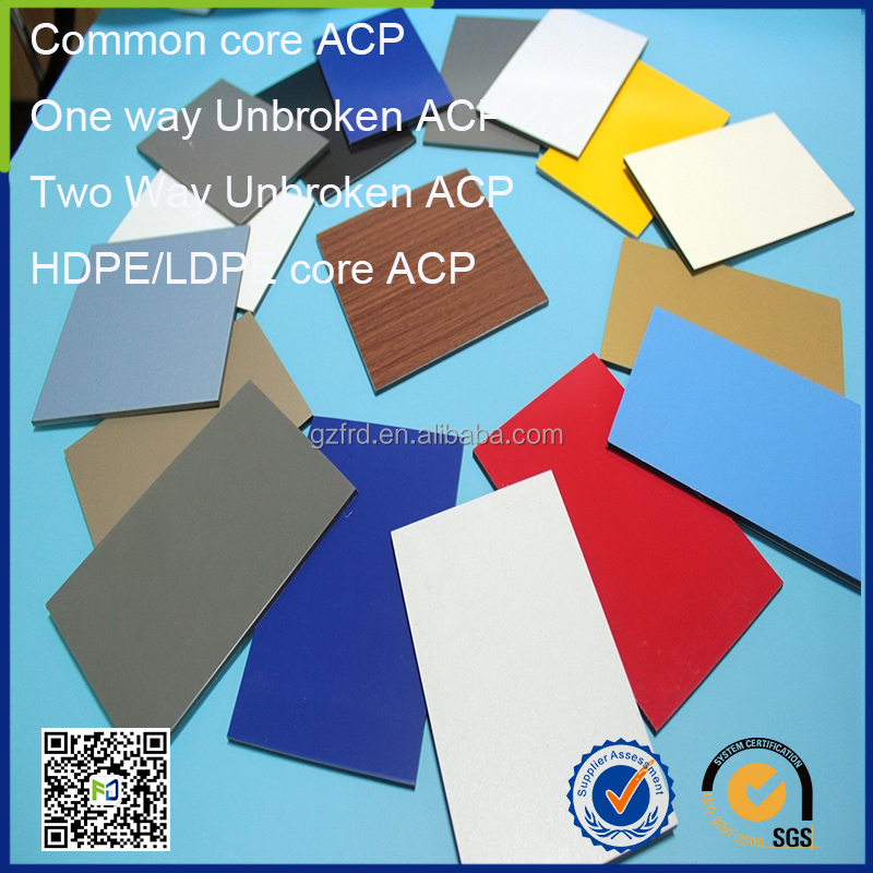 popular size 4x8 composite sheets acm aluminum water resistant wall panels price