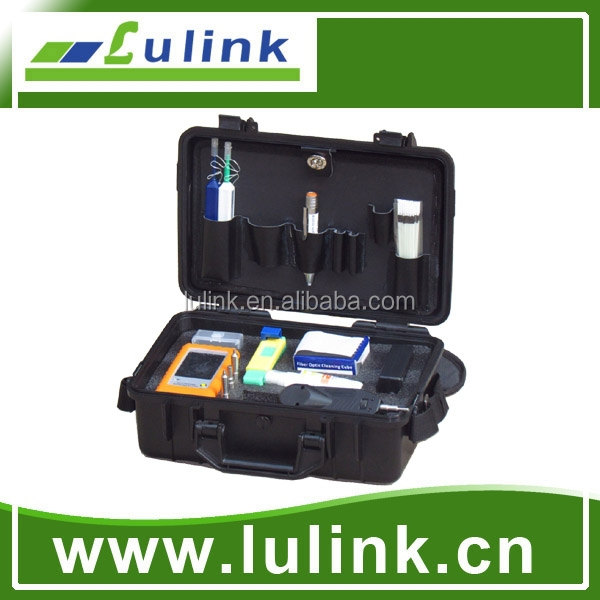 Fiber Optic Inspection & Cleaning Kit Tool for optical fiber fusion splicing/clean connectors