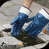 SRSAFETY fully nitrile coated heavy duty oil and gas safety glove