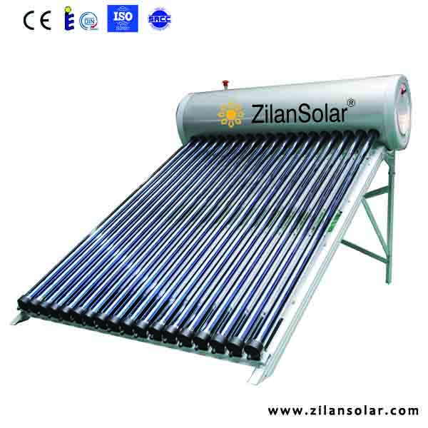 hot sale in Agentina solar water heating panel price with water pressure tank