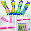 new design colorful foldable adult toothbrush for travel