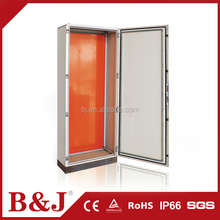 B&J Outdoor Metal IP55 Electrical Floor Standing Cabinet / Switch Box / Cable Distribution Box