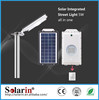 High quality CE ROHS solar dc ac 50hz 2kw solar street light lithium battery