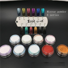 New mirror effect pigment powder/mirror chrome pigment for nail art powder