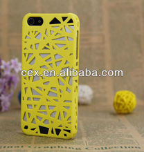 For Apple iPhone 5 5S High Quality Bird Nest Plastic PC Hard Case