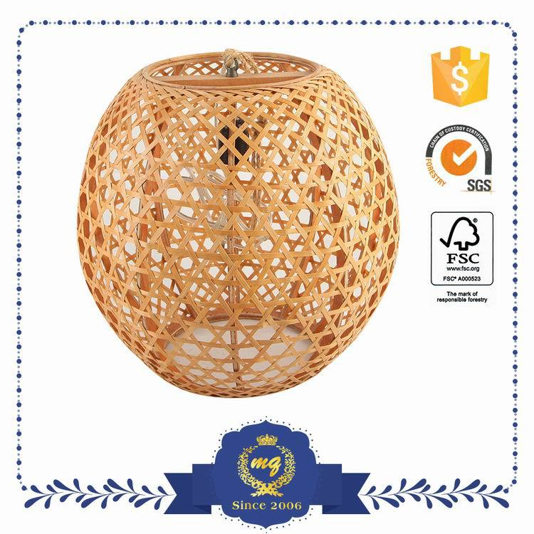 Export Quality Foldable Wicker Lampshade