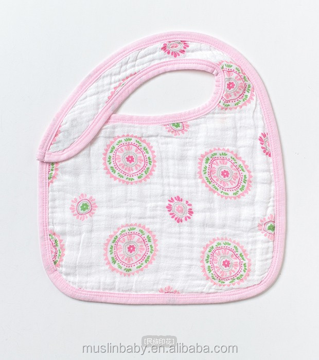 Hot sale cotton bamboo baby bibs
