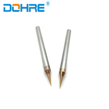 High Hardness Tungsten Carbide Flat End Mills Cutter Tool 0.5mm