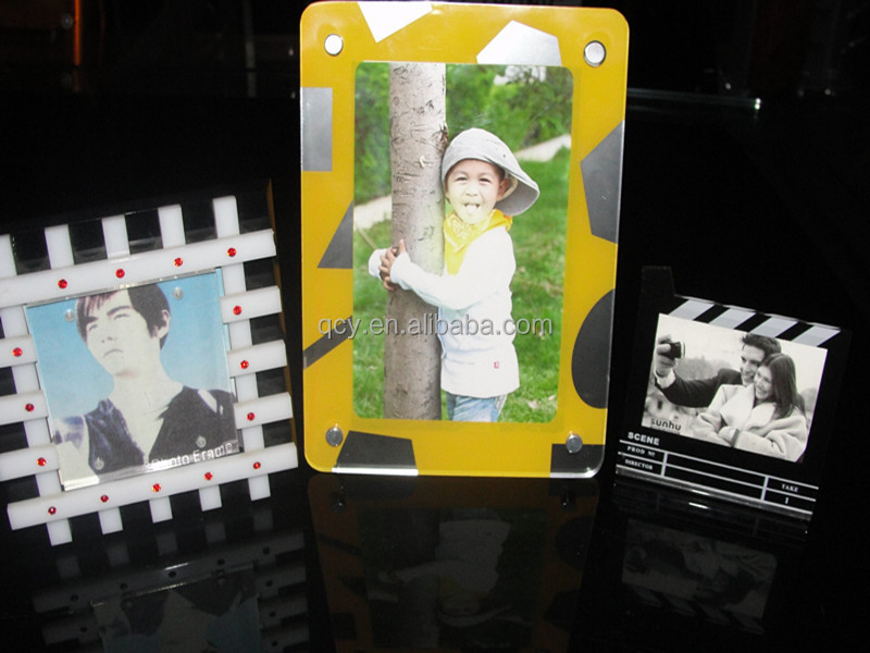 black and white Photoframe/Photo Frame/acrylic photoframe