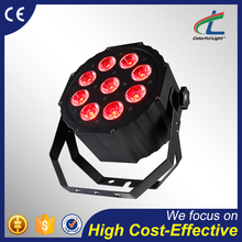 high quality outdoor uplight DMX512 dj disco stage rgbaw battery powered wireless led par can light