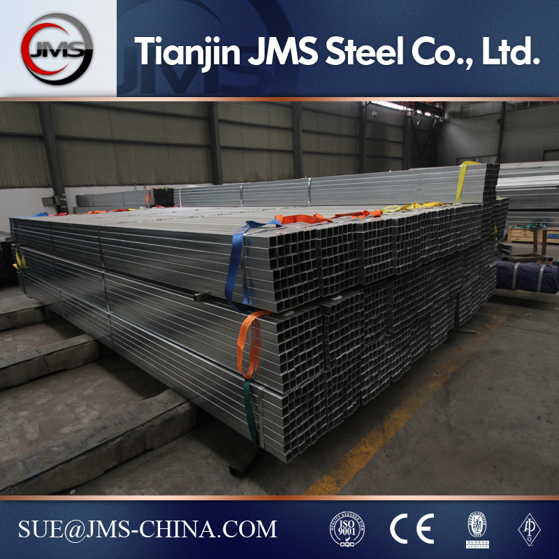 High quality rectangule pre-galvanized steel pipe/tube