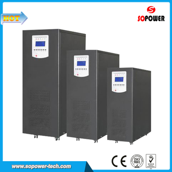 Low Frequency 3 Phase Input 1 Phase Output Online UPS 10KVA