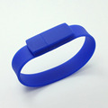 Factory Price Flash Memory Silicone USB 2.0 Pen Drives  wristband cheap bracelet usb flash drive memory