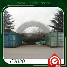 China Supplier Shipping Container Garage Roof Storage Tent