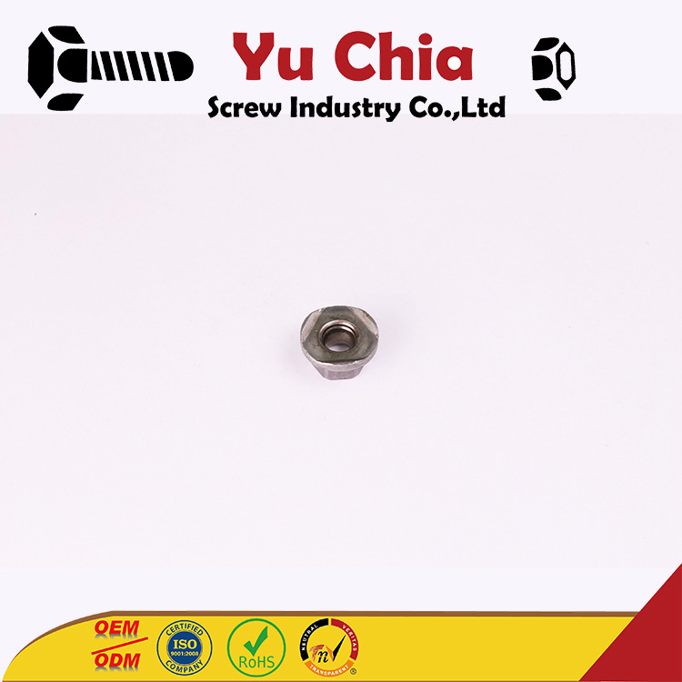 Customized Din6923 Hex Flange Nut With Factory Price Diamond Thumb Screw Slotted Nut Socket