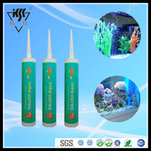 Strong adhesion Waterproof Clear RTV aquarium silicone sealant