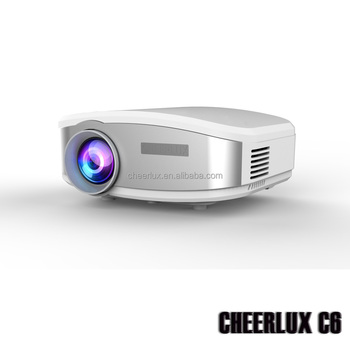 2015 New Arrival LCD LED projector portable small media beamer factory price