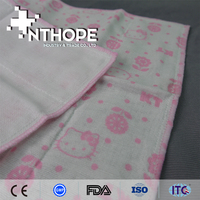 100 cotton fabric factory plain white cotton handkerchiefs